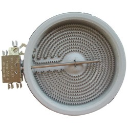 1054113034 - HALOGEENELEMENT 1-ZONE Ø 140MM. 1200W-230V EGO 10.54113.034