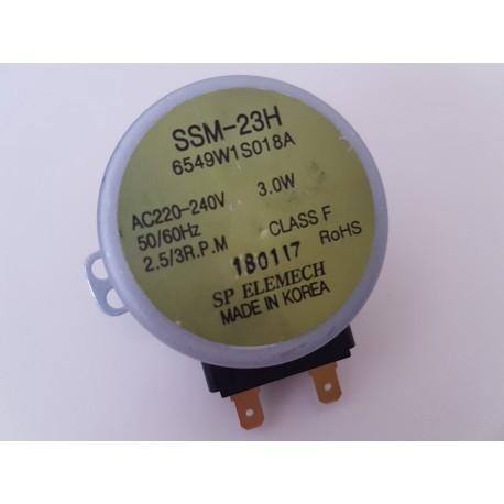 SSM-23H - DRAAIPLATEAUMOTOR 220/240V 50/60HZ VOR MAGNETRONS